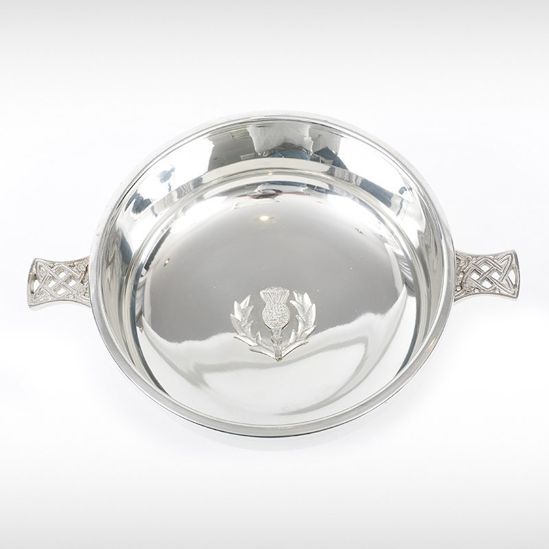 Quaich With Thistle Badge