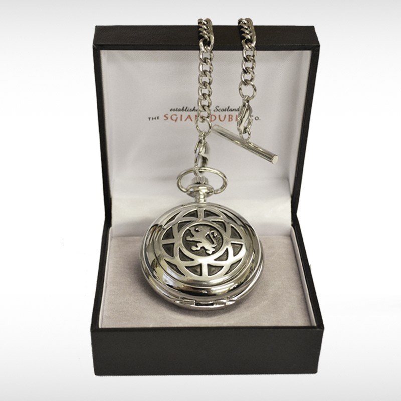 Celtic Lion Rampant Pocket Watch