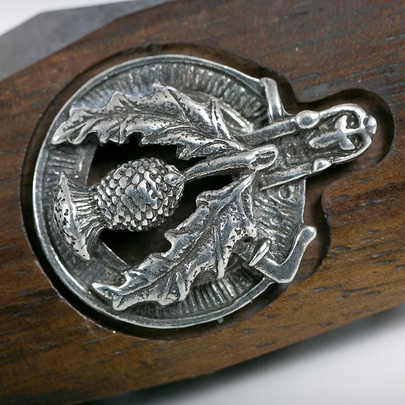 Thistle Crest Officer Sgian Dubh