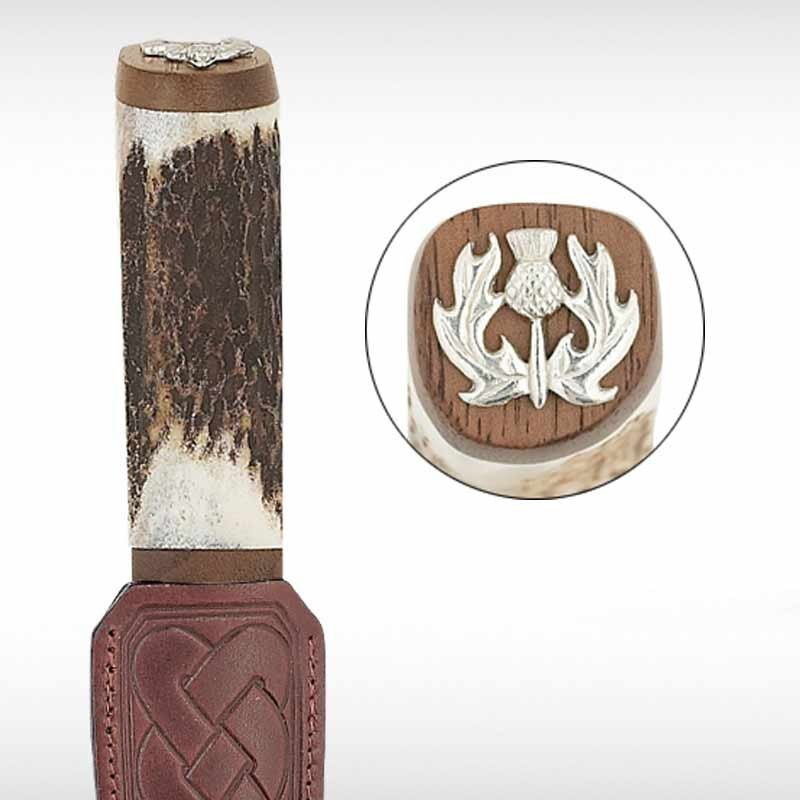 Thistle Staghorn Sgian Dubh