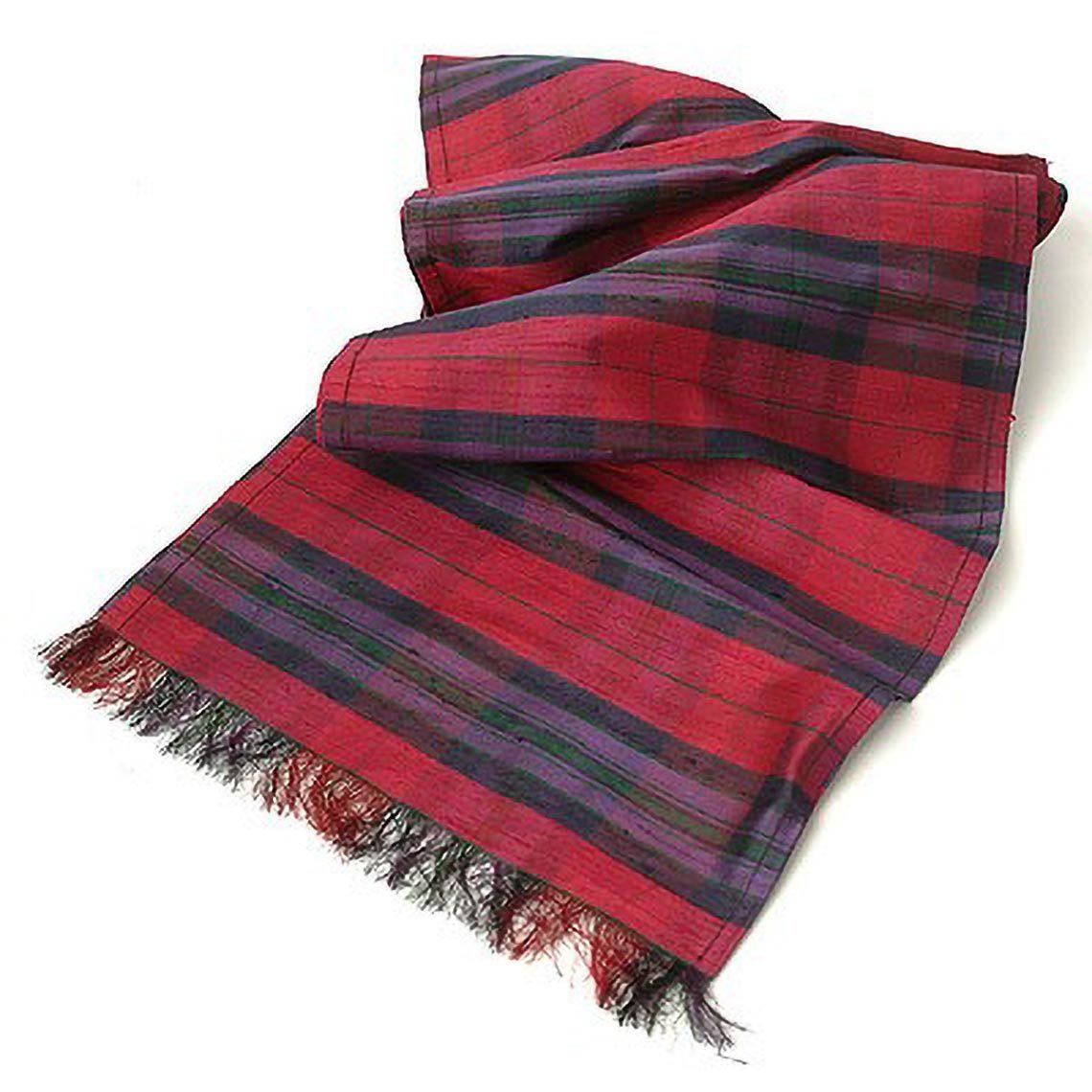 Autumn Pride Silk Sash