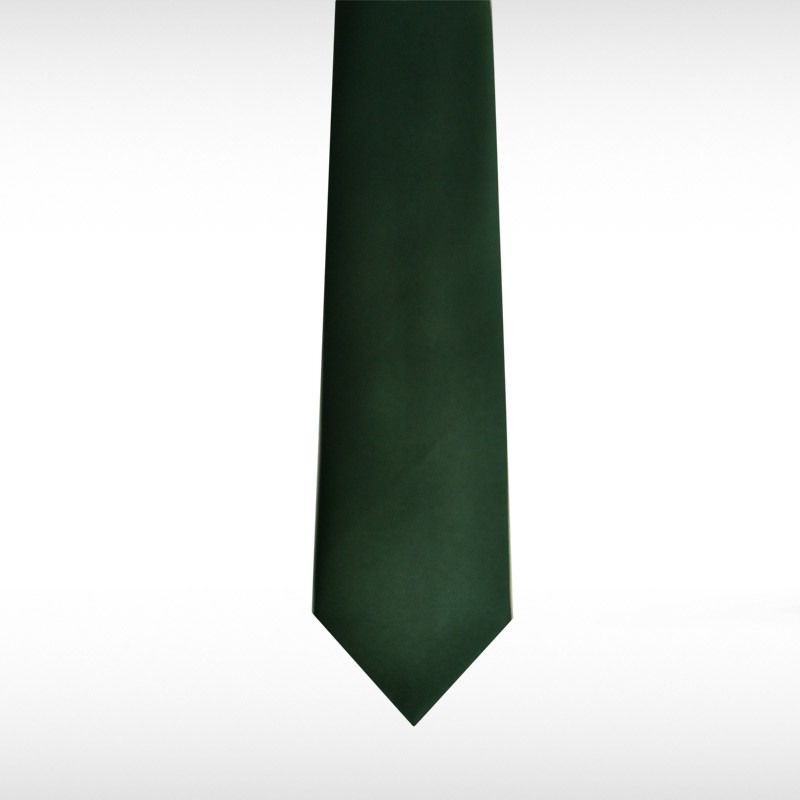 Bottle Green Straight Tie