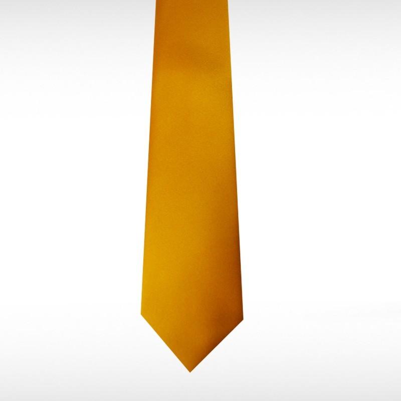 Burnt Orange Straight Tie