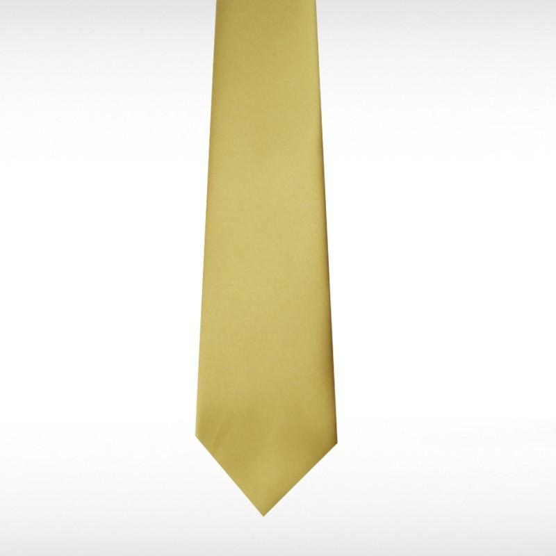 Champagne Straight Tie