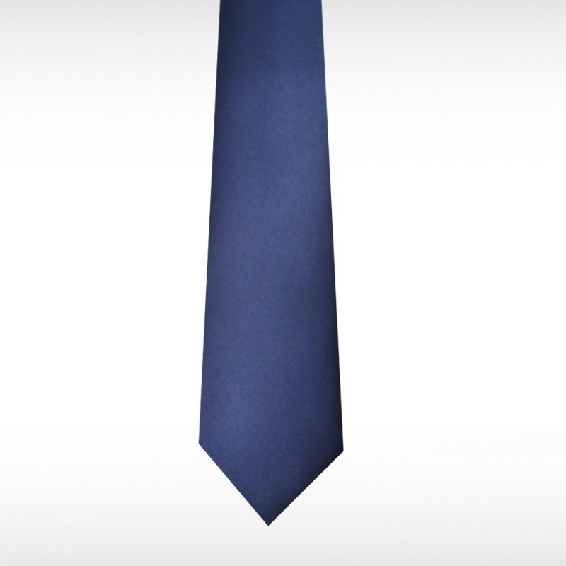 French Navy Straight Tie