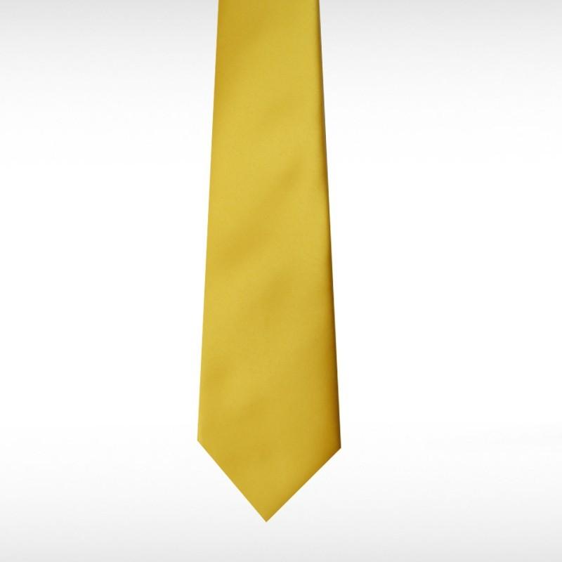 Gold Straight Tie