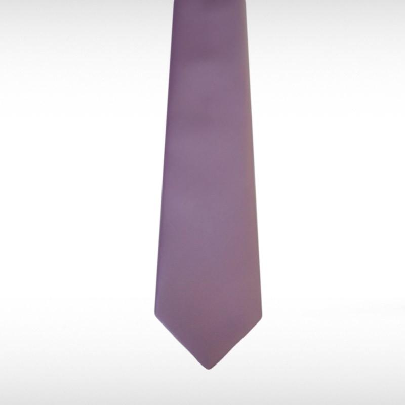 Lilac Straight Tie