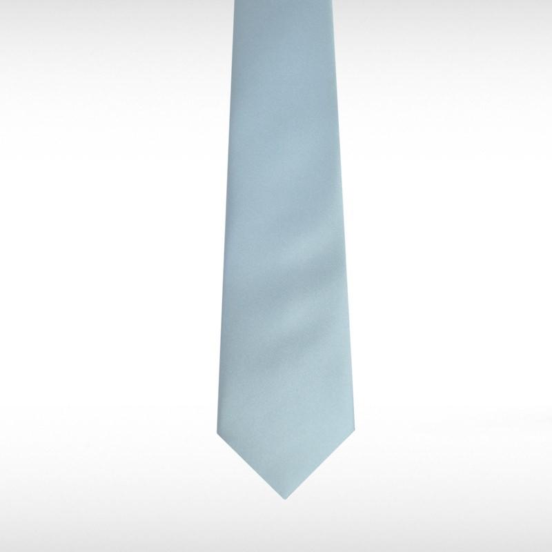Pastel Blue Straight Tie