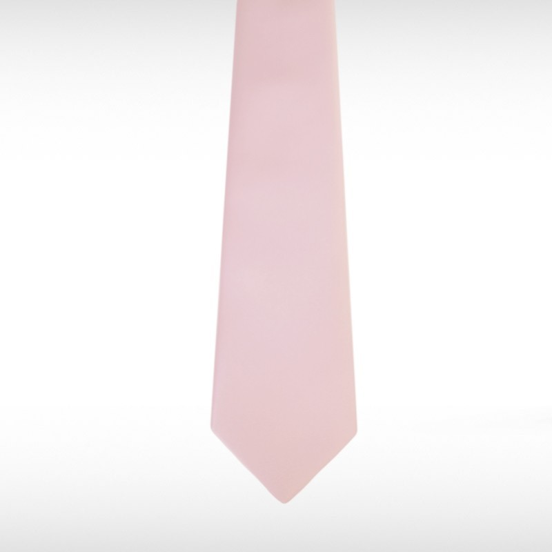 Pastel Pink Straight Tie