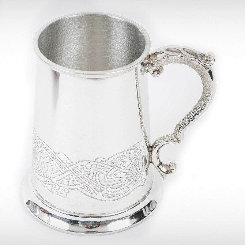 Celtic Animal Design Tankard