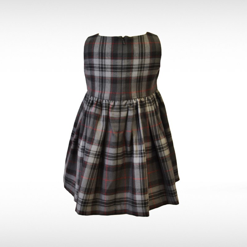 Silver Pride Tartan Dress