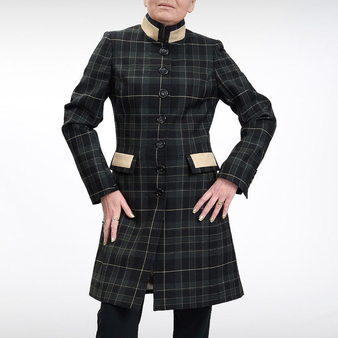 Tartan Tailored Coat - Hunting Pride