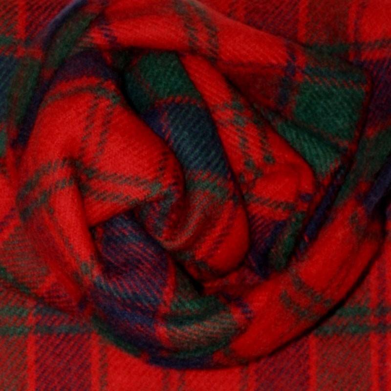 Robertson Red Tartan Scarf
