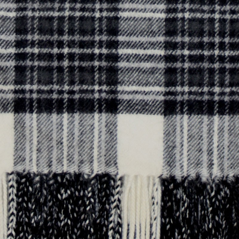 Stewart Dress Grey Tartan Scarf