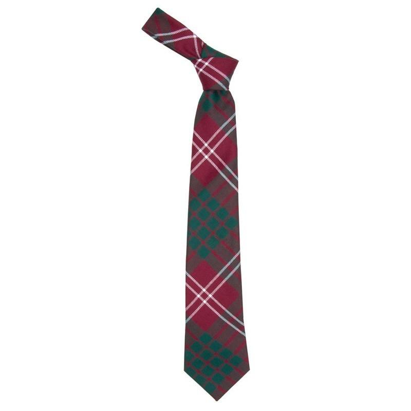 Crawford Modern Tartan Tie