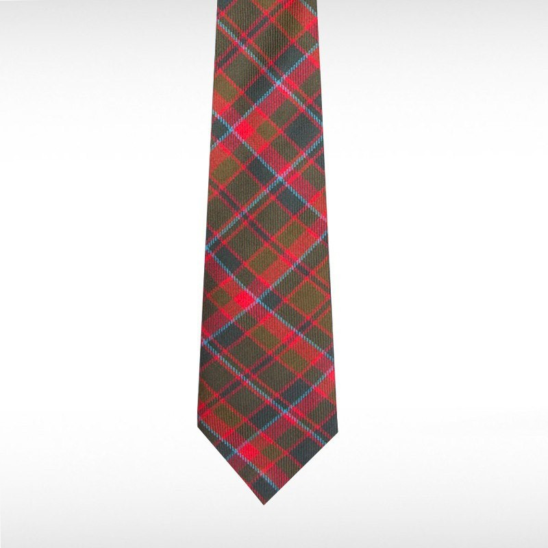 Cumming Hunting Weathered Tartan Tie