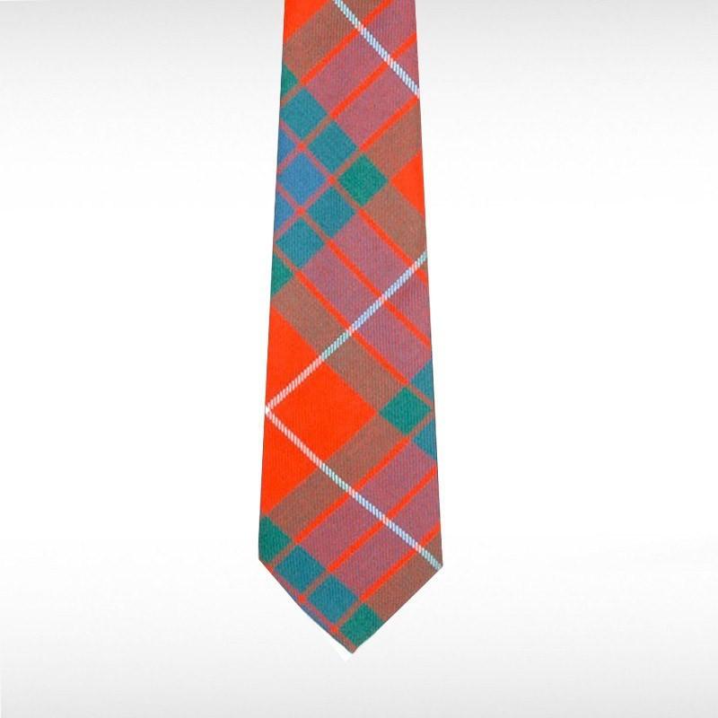 Fraser Red Ancient Tartan Tie
