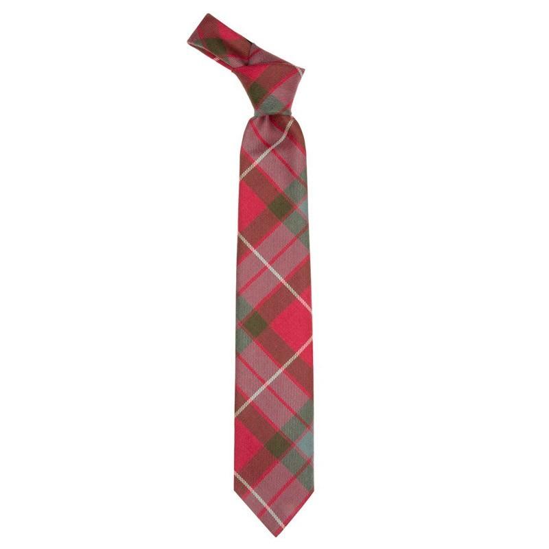 Fraser Red Weathered Tartan Tie