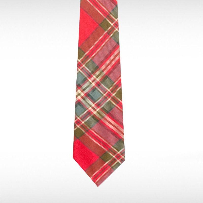 MacFarlane Weathered Tartan Wool Tie