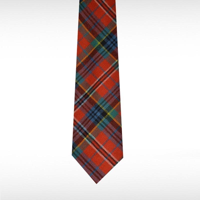 MacPherson Ancient Tartan Tie