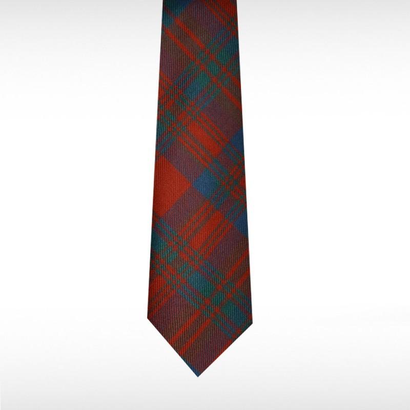 Matheson Red Ancient Tartan Tie