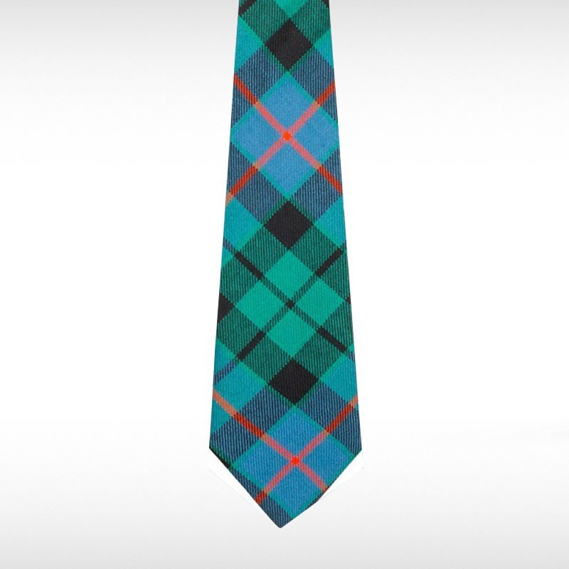 Morrison Green Ancient Tartan Tie