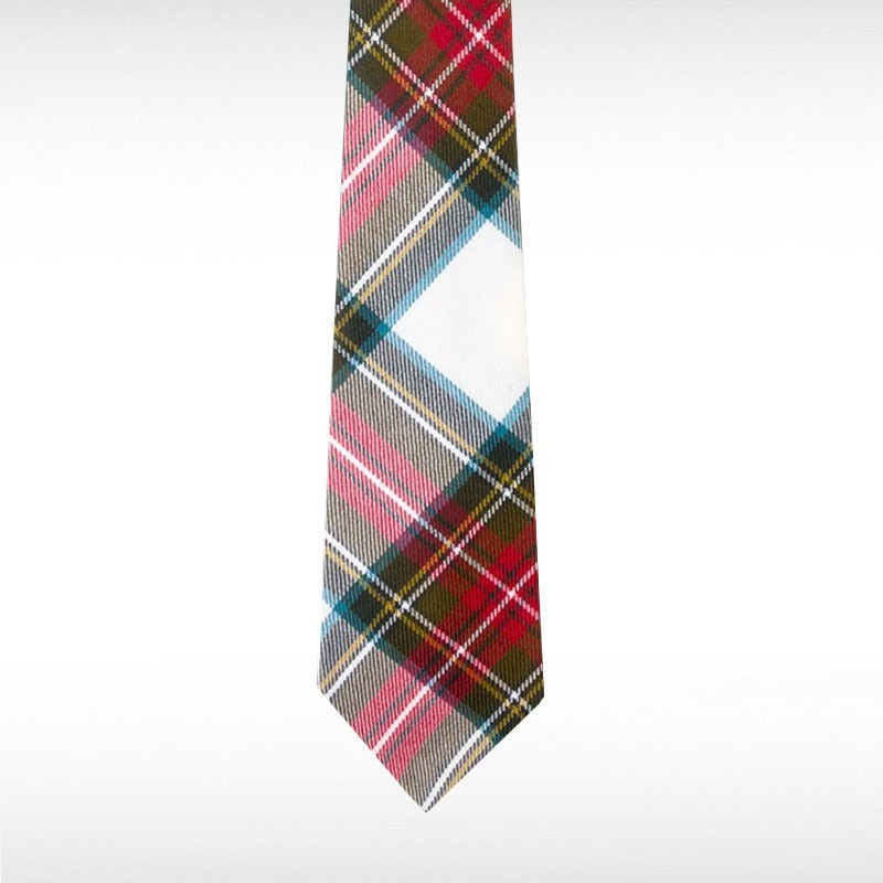 Stewart Dress Weathered Tartan Tie