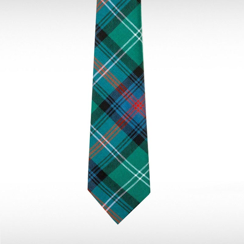Sutherland Old Ancient Tartan Wool Tie