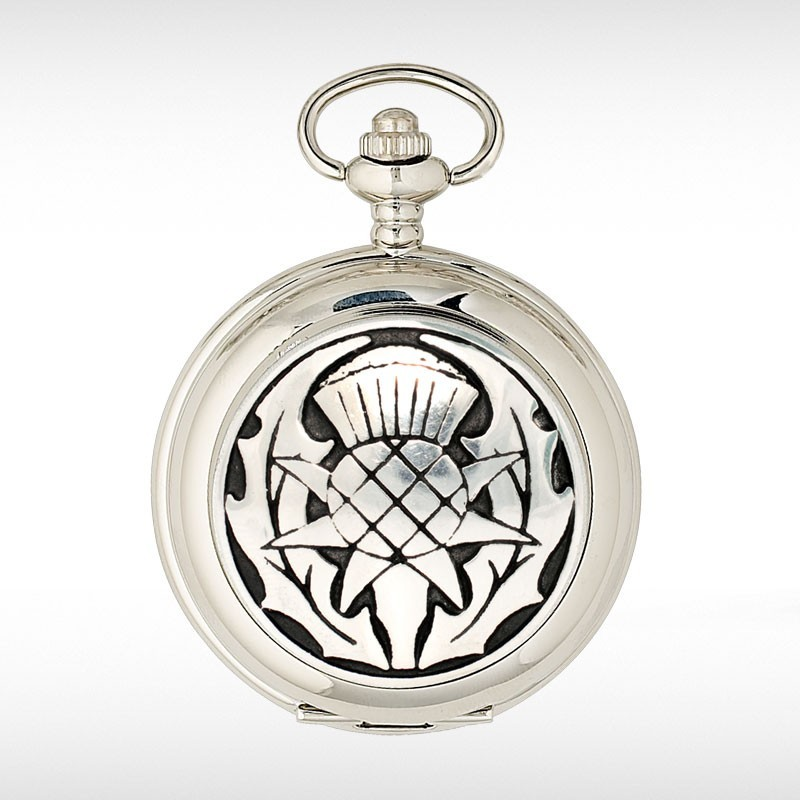 Thistle Pocket Watch Three Piece Gift Set