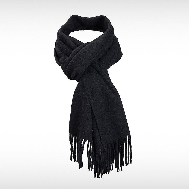 Black Woollen Scarf by Pride
