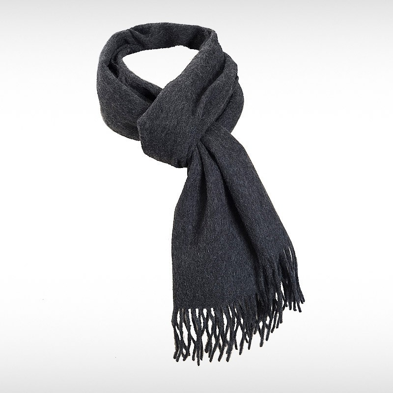 Grey Woollen Scarf by Pride