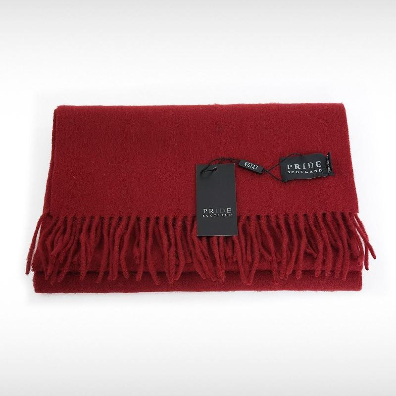 Red Woollen Scarf by Pride