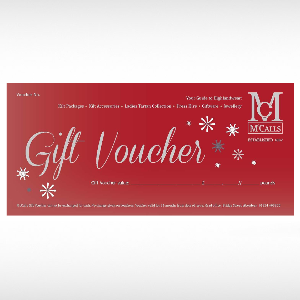 Gift Vouchers (Christmas)