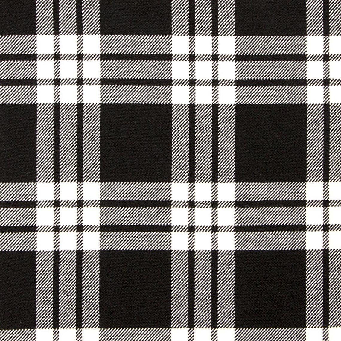 MacFarlane (Black & White) Kilt
