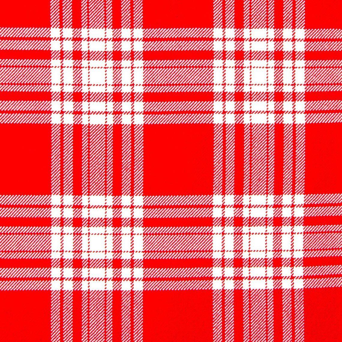 Menzies (Red & White Modern) Kilt